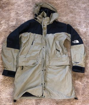 VTG The North Face TNF Hydroseal Parka Jacket Olive/Black Size Large 90s for Sale in Rodeo, CA