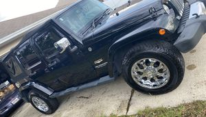 Jeep Sahara unlimited for Sale in Jacksonville, FL