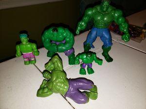 Hulk set 5 pcs for Sale in Lake View Terrace, CA