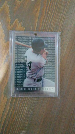 Baseball card- derek jeter prospects rc for Sale in Roseburg, OR