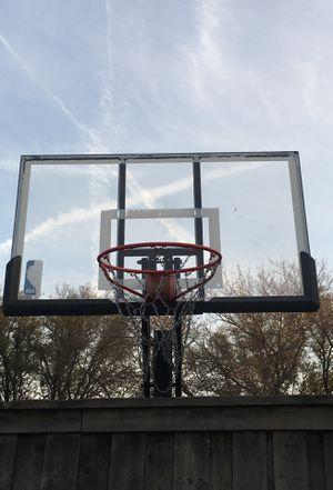 "Spalding NBA 54"" Portable Adjustable Basketball Hoop System for Sale in Garland, TX"