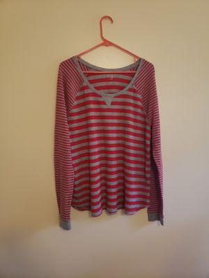 Pink striped Gap long sleeve xxl for Sale in Madison Heights, VA