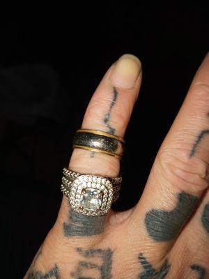 Set of wedding rings I think size 7 for Sale in Birmingham, AL