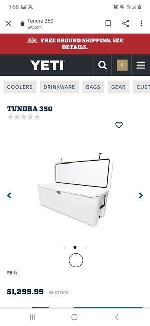 YETI TUNDRA 350 COOLER for Sale in Brooklyn, NY