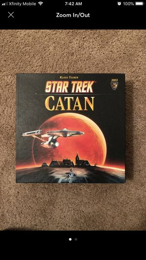 Star Trek Settlers of Catan Board Game for Sale in Houston, TX