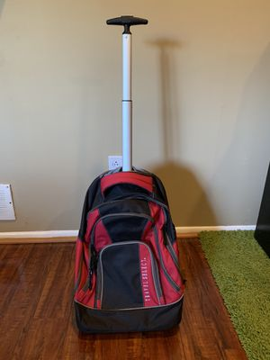 Backpack with wheels ~ never used for Sale in Andalusia, PA