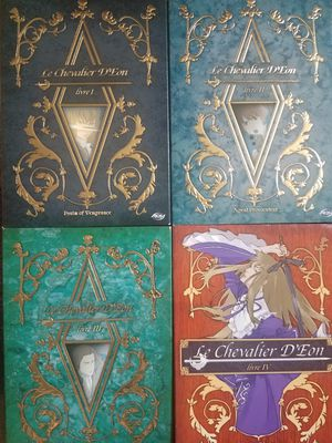 Le Chevalier D'Eon Livre 1-4 DVD Anime Collection Set I II III IV Animated Manga for Sale in Tampa, FL