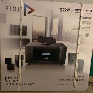 Primus Home Theater System( Brand New) for Sale in Shirley, NY