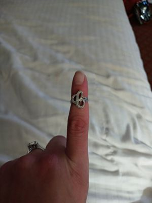 Initial 'C' sterling silver ring for Sale in Oklahoma City, OK