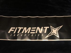 Fitment industries decal for Sale in Fresno, CA