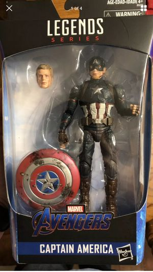 Marvel legends worthy captain America for Sale in Chicago, IL