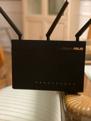 ASUS RT-AC68U Dual Band Router for Sale in Bartlett, IL