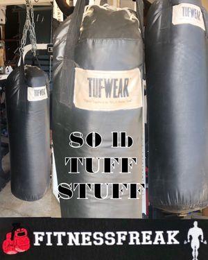 TuffStuff 80 lb PUNCHING BAG for Sale in El Cajon, CA