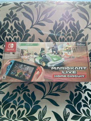 Mario Kart Live: Home Circuit (Luigi Set) Nintendo Switch - New for Sale in San Jose, CA