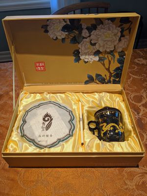 Chinese Tea Cake Set (Yunnan Chitsu Pingcha) for Sale in Queens, NY