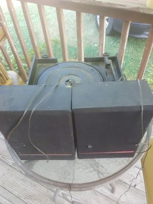 Speakers and Cassete/Record Player for Sale in Kingsport, TN