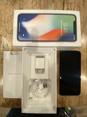 iPhone X unlocked for Sale in Snohomish, WA