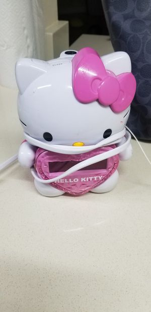 HELLO KITTY PROJECTOR CLOCK for Sale in West Palm Beach, FL