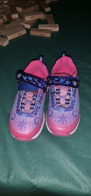 Disney Frozen Elsa Anna fashion sneakers shoes size 10 for Sale in Alpine, CA
