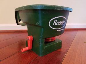 Spreader for fertilizer, Scotts for Sale in Sudley Springs, VA