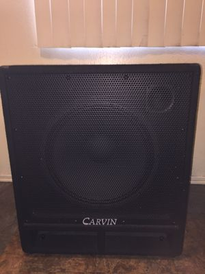 Carvin BR115-8C 400W 8OHMS BASS SPEAKER for Sale in South Gate, CA
