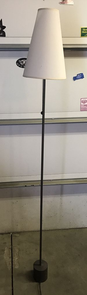 6' tall Floor Lamps. $15.00 each. for Sale in Chicago, IL