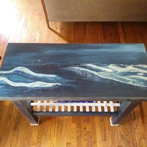 Kitchen Island: Hand Painted Seascape for Sale in Farmington Hills, MI