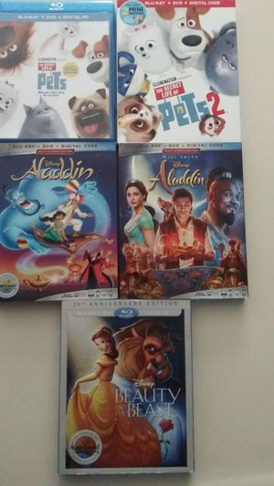 Disney Movies Bluray for Sale in Ontario, CA