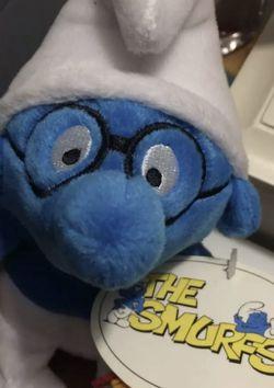 Brainy Smurf Stuffed Toy for Sale in Elma,  WA