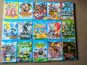 Nintendo Wii u games for Sale in Seattle, WA