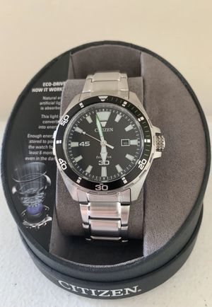 Citizen Brycen Eco-Drive Silver-Tone Stainless Steel Men's Watch for Sale in Flower Mound, TX