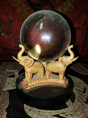 Harry Potter Noble Collection Professor Trelawney Divination Crystal Gazing Ball VHTF very hard to find statue Halloween authentic for Sale in Scottsdale, AZ