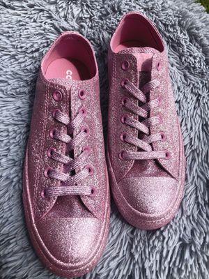 💗 Pink Glitter Converse 💗 for Sale in Austin, TX