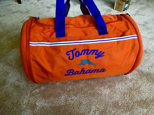 Tommy Bahama Collapsable Tumbler Duffle Bag NEVER USED MSRP $37