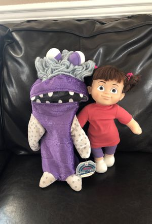 Disney on Ice Monster Inc. Boo Doll with Costume for Sale in Antioch, CA