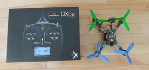 Spectrum DX6E Radio Controller And FPV drone for Sale in Salt Lake City, UT
