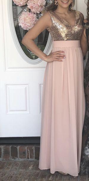 Rose gold formal dress for Sale in Oakton, VA