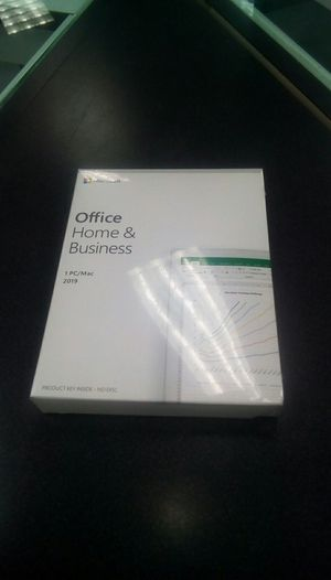 Microsoft Office and Business Permanent software 2019 for Sale in Nashville, TN