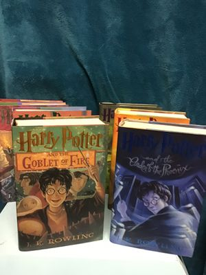 Harry Potter 1st Edition Full Bookset 1-7 Hardcover for Sale in Des Moines, WA