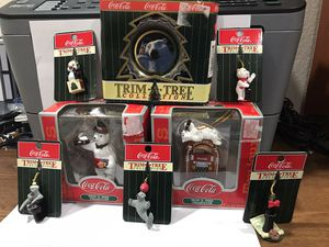 """Coca-Cola """"Trim A Tree"""" Collection for Sale in Gilbert, AZ"""