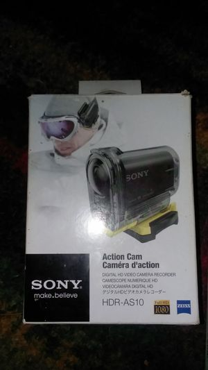 Sony action cam and extra for Sale in Forked River, NJ