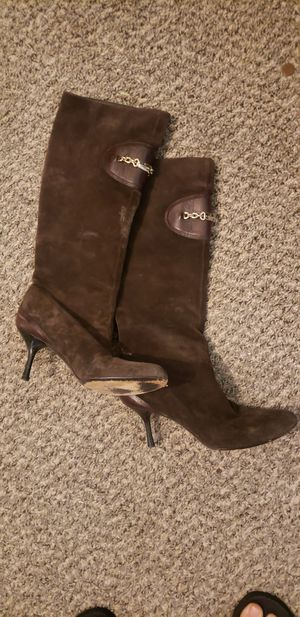 Gucci suede boots for Sale in Oklahoma City, OK