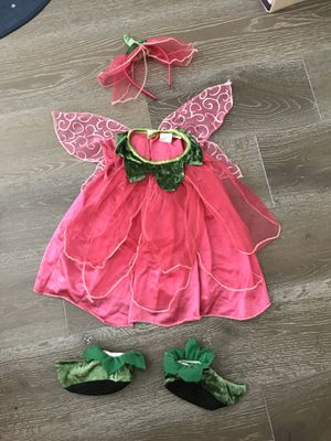 Cute strawberry fairy costume fits up to 24M for Sale in Irvine, CA