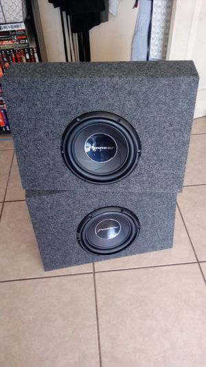 Pioneer 10s subwoofers Brand new for Sale in Mesa, AZ