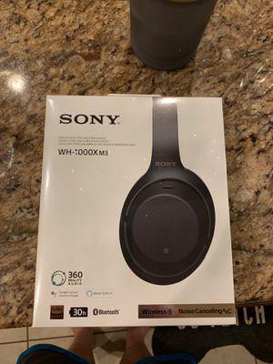 Sony sound canceling headphones, new in box for Sale in Smithfield, VA