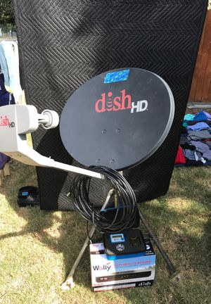 Dish HD Satellite Dish and Wally Receiver for Sale in Canyon Lake, TX