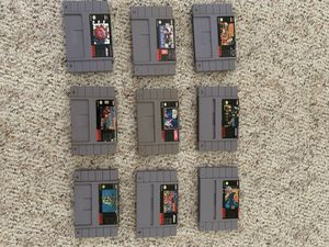 Super Nintendo games for Sale in Durham, NC