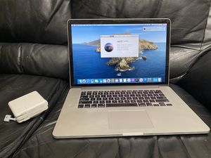 MacBook Pro i7 2.6ghz 8gb ram 250gb ssd flash A1398 late 2013 for Sale in Fullerton, CA