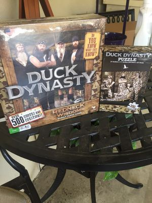 Duck dynasty board game and puzzle. Brand new factory sealed. for Sale in Los Angeles, CA