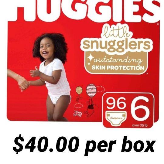 Huggies Little Snugglers Size 6